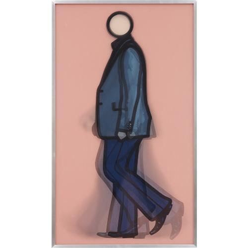 JULIAN OPIE - Rod Walking, 2010