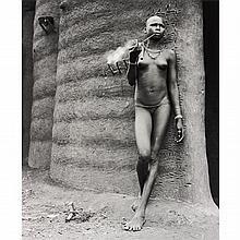 HECTOR ACEBES - Unidentified Woman, Benin, 1953