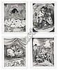Four Etching and Aquatint Prints, 1996, Kara Walker, Click for value