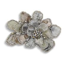 An Icy Diamond and Coloured Diamond 'Bouquet' Brooch