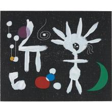 AFTER JOAN MIRÓ - Rose Matinale au Clair de la lune (Morning Rose in the Light of the Moon), 1958