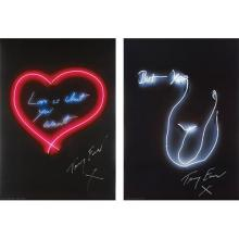 TRACEY EMIN - Love is What You Want; and But Yeah, 2015