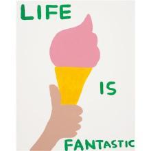 DAVID SHRIGLEY - Life is Fantastic, 2016