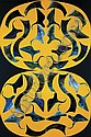 PHILIP TAAFFE Yellow, Grey, 1986, Philip Taaffe, Click for value