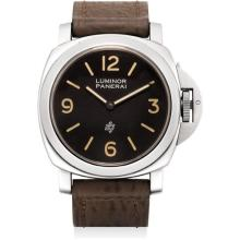PANERAI - A fine and rare stainless steel limited edition cushion-shaped wristwatch, Circa 1993