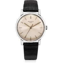PATEK PHILIPPE - A stainless steel wristwatch with sweep centre seconds, 1964