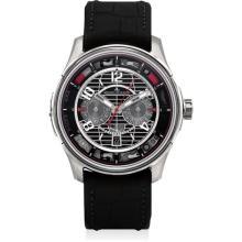 JAEGER LECOULTRE - A fine titanium chronograph wristwatch with date, Circa 2013