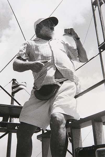 Hemingway, Cojimar, 1950