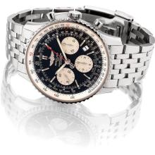 BREITLING - A stainless steel limited edition chronograph wristwatch with date and bracelet, Circa 2012