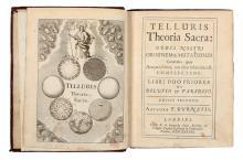 Burnet Thomas. Telluris theoria sacra: orbis nostri originem & mutationes generales, quas aut olim subiturus est, complectens. Libri duo.. Londini: typis R. N. impensis Gualt. Kettilby, 1689.