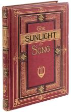 Dalziel Edward - Dalziel George. The Sunlight of Song a collection of sacred and moral poems. London: Novello, Ewer and Co, 1875