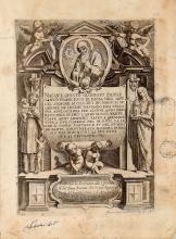 Nardino Orazio. La vita e i miracoli del gloriosissimo Padre San Francesco di Paola fondatore dell'Ordine dei Minimi. [Napoli, 1622 ca.].