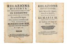 Plaquette. Lotto di 5 plaquette. 1714-1797.