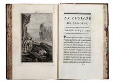 Camoens Luis (de). La Lusiade... Poeme héroique, en dix chants... Enrichi de Figures à chaque Chant. Tome premier [-second]. A Paris: Chez Nyon ainé, 1776.