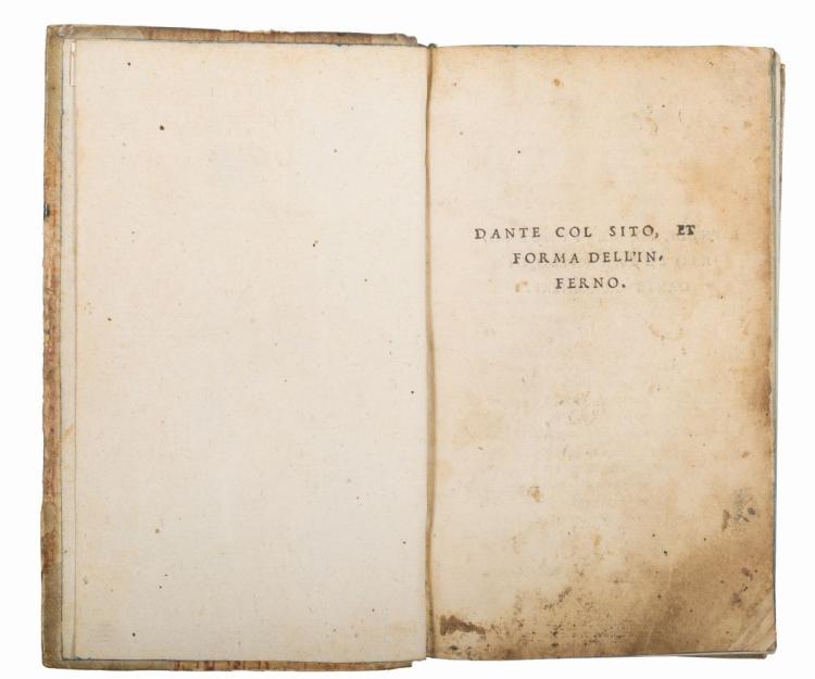 Alighieri Dante. Dante col sito, et forma dell'Inferno. [Toscolano]: P. Alex. Pag. Benacenses. F. Bena. .V. V., [fra 1527 e 1533].