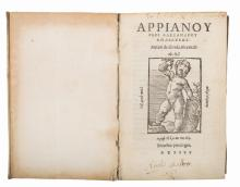 Arrianus Flavius. Arrianou Peri Alexandrou anabaseōs [graece]. Arriani de ascensu Alexandri. Venetiis: in aedibus Bartholomaei Zanetti Casterzagensis, 1535.