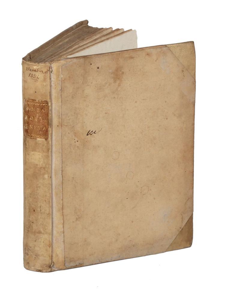 Bembo Pietro. Della Historia Vinitiana... In Vinegia: 1552