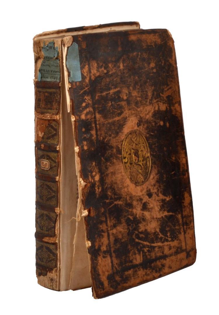 Brodeau Jean. Epigrammatum Graecorum libri VII... Basileae: [Hieronymus Froben e Nikolaus Episcopius], 1549