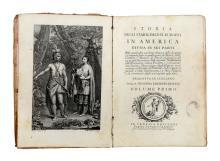 Burke Edmund. Storia degli stabilimenti Europei in America divisa in sei parti...In Venezia: presso Antonio Graziosi, 1763