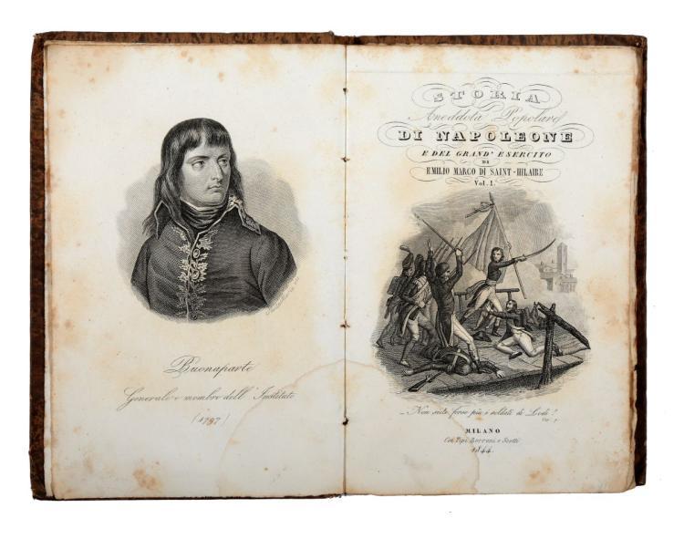 Capefigue Jean Baptiste Honorè Raymond. L' Europa durante il consolato e l'impero di Napoleone... Milano: presso Carlo Turati, 1840-1842