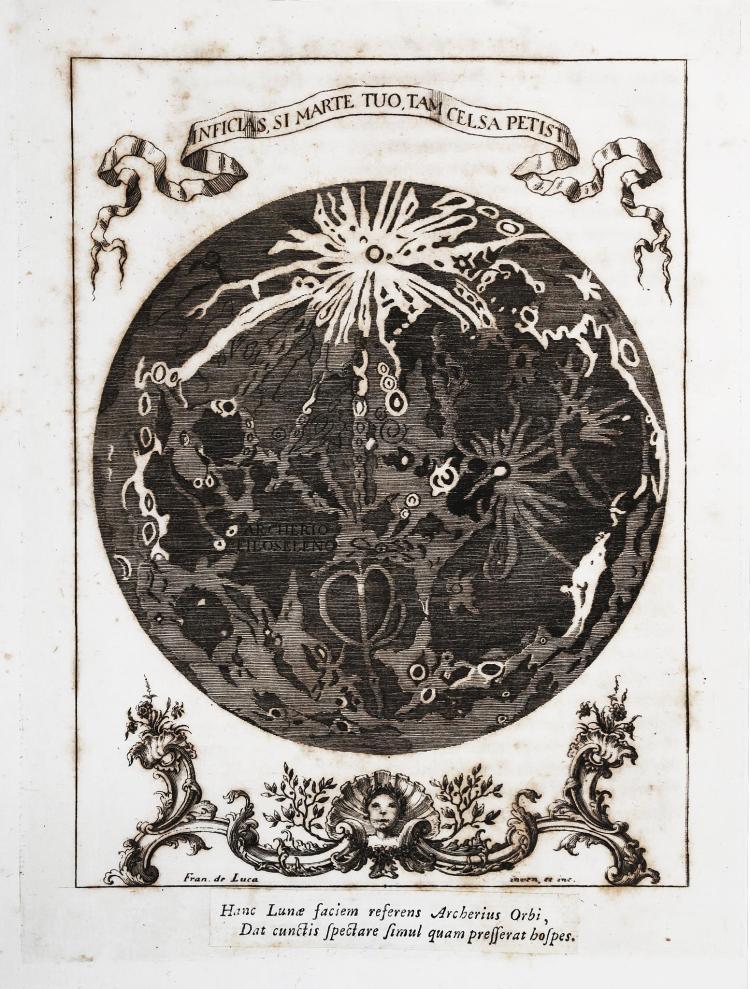 Caputi Antonio. Estasi e rapimento sopra la luna di Archerio Filoseleno... In Napoli: presso Vincenzo Pauria, 1763