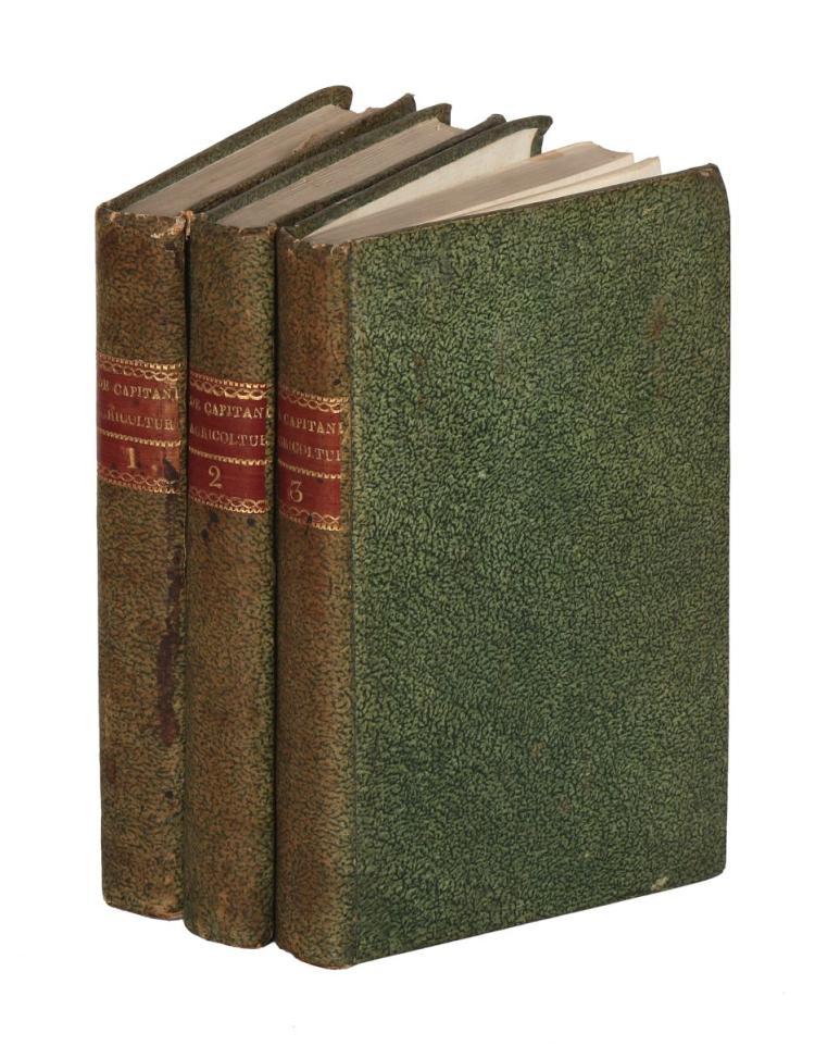 De Capitani Carlantonio. Sull'Agricoltura particolarmente nei paesi di collina... Milano: Per Giovanni Silvestri, 1815