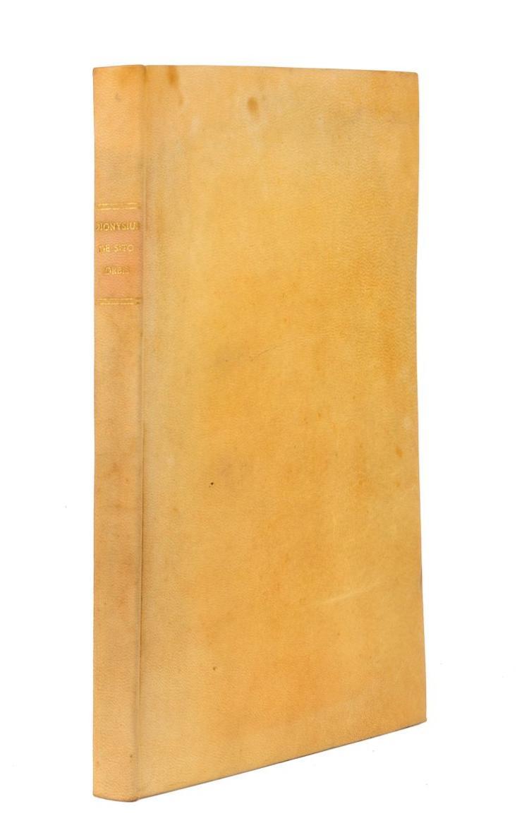Dionysius Periegetes. De situ orbis libellus. Lutetiae: ex officina Rob. Stephani, typographi regii, typis regiis, 1547