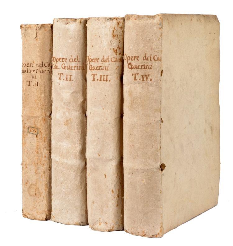 Guarini Battista. Delle opere... Tomo primo [-quarto]. In Verona: per Giovanni Alberto Tumermani, 1737-1738