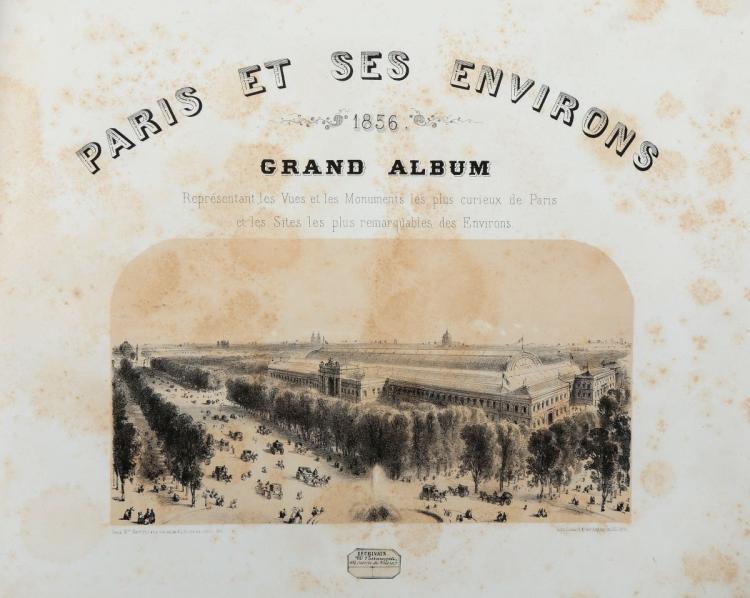 Maison Martinet. Paris et ses Environs 1856... Paris: Maison Martinet, [1856]