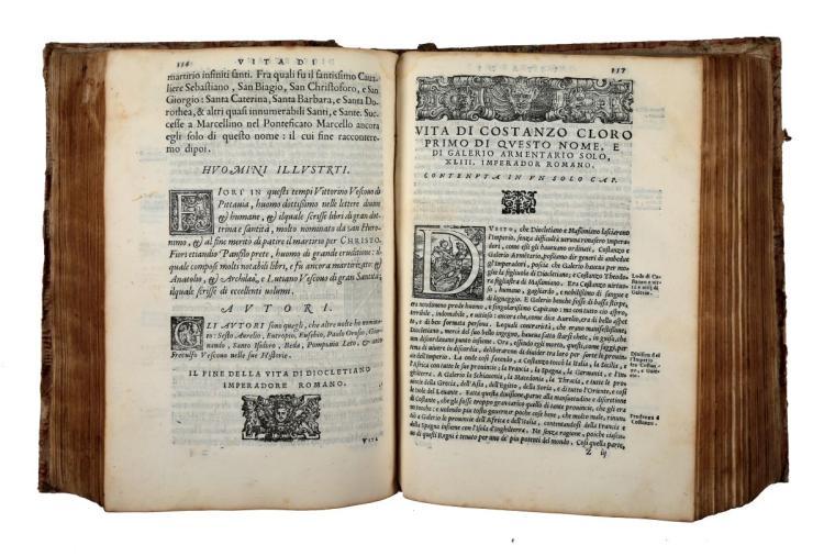 Mexia Pedro. Le vite di tutti gl'imperadori da Giulio Cesare insino a Massimiliano... In Vinegia: appresso Gabriel Giolito de' Ferrari, 1558