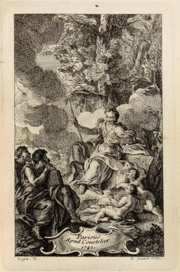 Phaedrus. Fabularum Aesopiarum libri quinque... Parisiis: Apud Coustelier, 1742