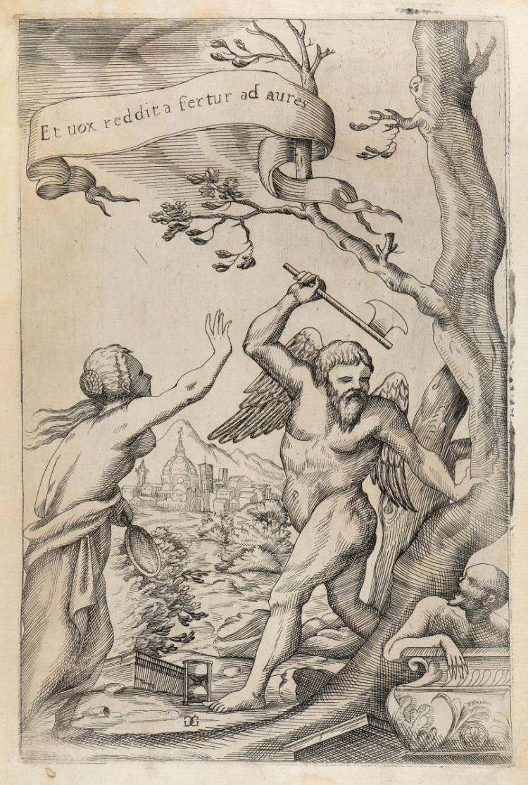 Salviati Leonardo. Degli avvertimenti della lingua sopra il Decamerone... In Napoli: nella Stamperia di Bernardo-Michele Raillard, 1712