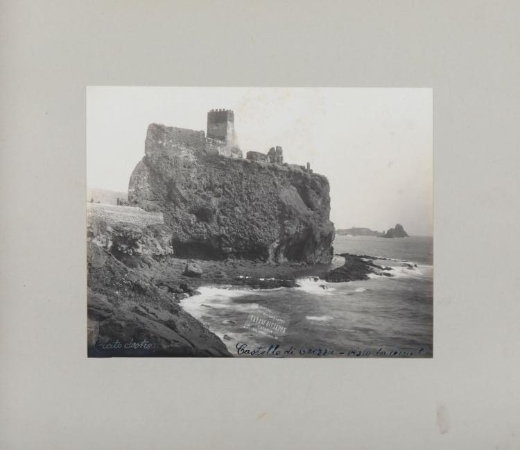 Tanasi Giuseppe. [Castello di Trezza]. [Catania: sec. XIX fine]
