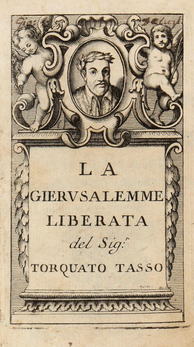 Tasso Torquato. Il Goffredo: poema heroico... In Venezia: apresso Gio. Battista Zuccato, 1714