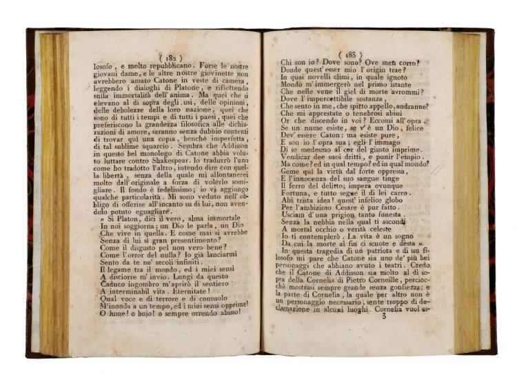 Voltaire. Letteratura, Storia, e Filosofia... Lipsia [i.e. Italia, 1780 ca]