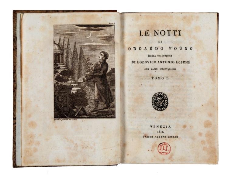 Young Edward. Le notti... Tomo I [-IV]. Venezia: Presso Adolfo Cesare, 1817
