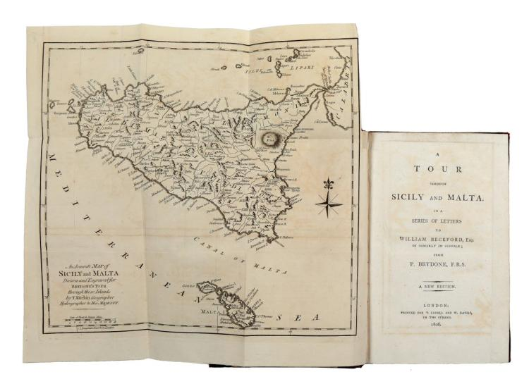 Brydone Patrick. A Tour through Sicily and Malta... A new edition. London: Printed for T. Cadell and W. Davies, 1806