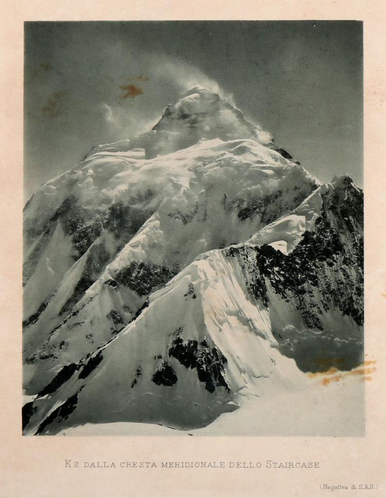 De Filippi Filippo. La Spedizione nel Karakoram e nell'Imalaia Occidentale 1909... Bologna: Nicola Zanichelli, 1912