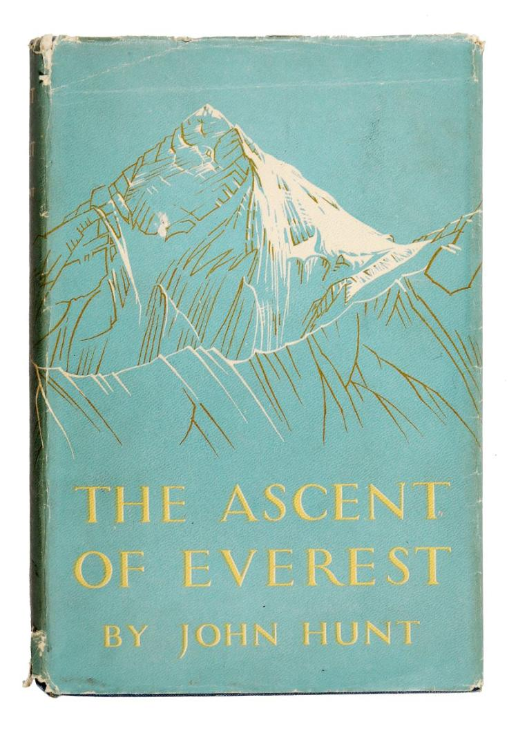 Hunt John. The ascent of Everest. London: Hodder & Stoughton, 1953
