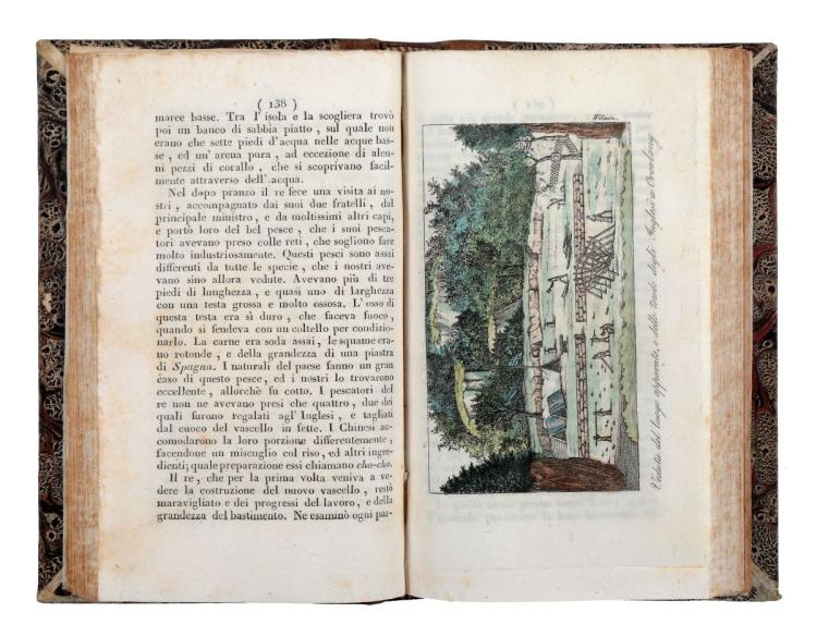 Keate George. Relazione delle isole Pelew... Napoli: a spese del Nuovo Gabinetto Letterario, 1834