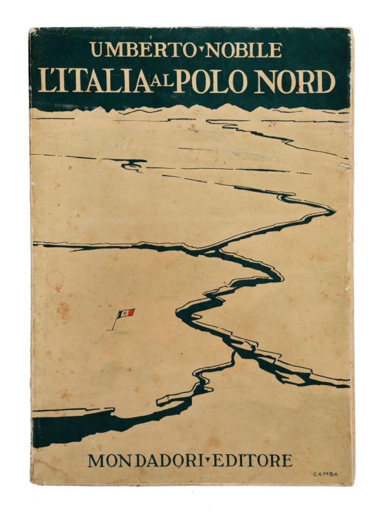 Nobile Umberto. L'Italia al Polo Nord. Milano: A. Mondadori, 1930