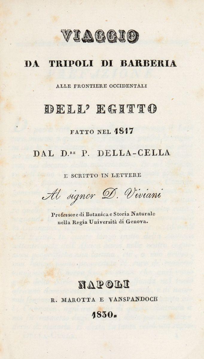Pananti Filippo. Avventure e osservazioni... Sopra le coste di Barberia. Firenze: Presso Leonardo Ciardetti, 1817