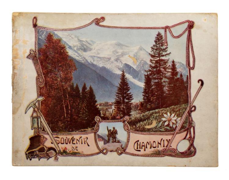 Tairraz Joseph. Souvenir de Chamonix. Chatelles: L.Geisler, 1900 ca
