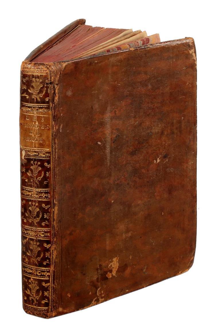 Anonimo. Diogene conteur ou les lunetes de verité suivies de la Biblioteque naturéle ou le berger philosophe. 1764