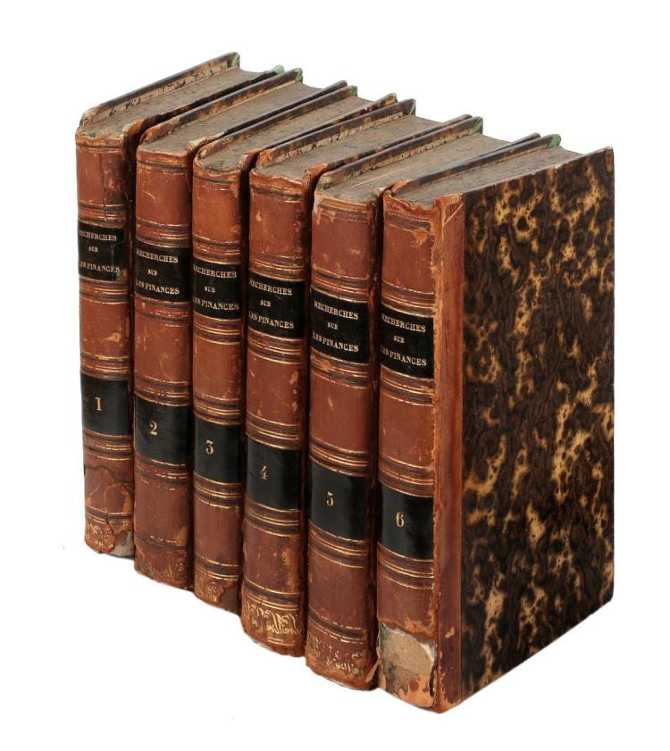Forbonnais François Veron Duverger (de). Recherches et considerations sur les finances de France, depuis 1595 jusqu'en 1721. Liege: 1758.