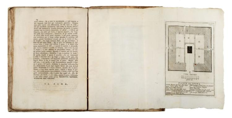 Intieri Bartolomeo, Galiani Ferdinando. Della perfetta conservazione del grano discorso... In Napoli: presso Giuseppe Raimondi, 1754.