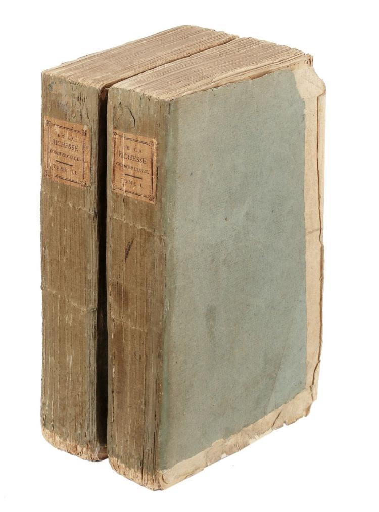 Sismondi Jean Charles Léonard Simonde (de). De la richesse commerciale, ou principes d'économie politique, appliqués à la législation du commerce... Genève: Chez J. J. Paschoud, Libraire, 1803.