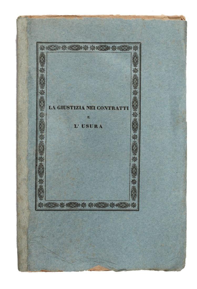 Sonnenfels Joseph (von). La scienza del buon governo... tradotto dal tedesco in italiano. In Venezia: Giovanni Vitto, 1785.