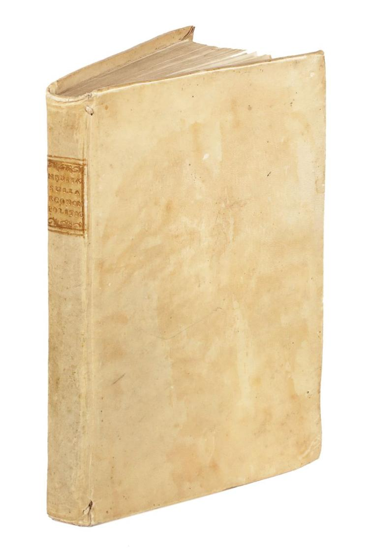Verri Pietro. Meditazioni sulla economia politica. Livorno: Nella Stamperia dell'Enciclopedia, 1771.