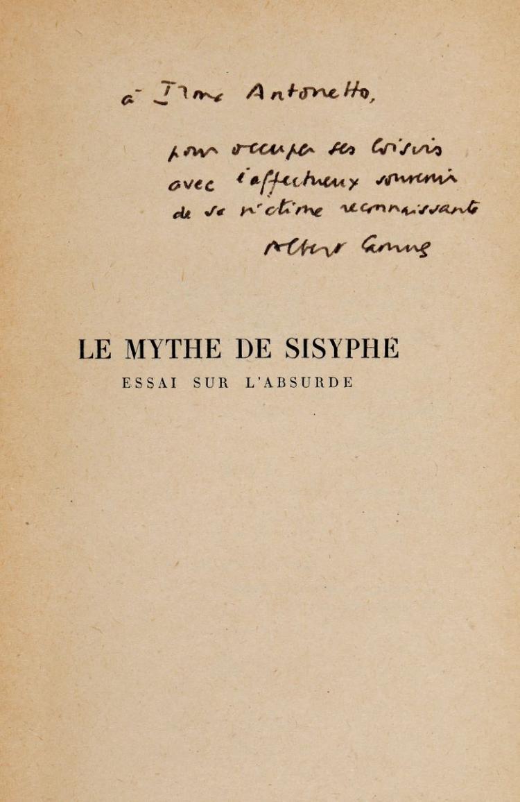 Camus Albert. L'exil et le royaume. Nouvelles. 14e édition. Paris: Gallimard, [1957].